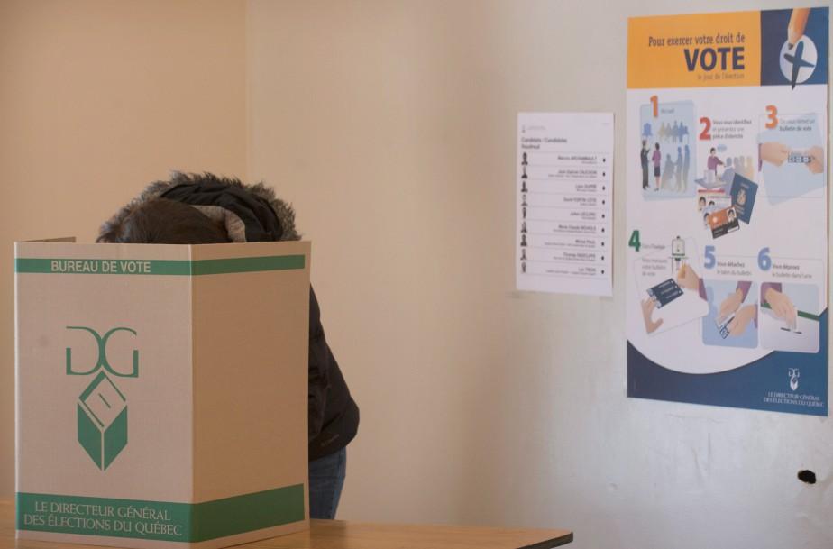 «Certains partis savent qu'un plus faible taux de... (PHOTO GRAHAM HUGHES, ARCHIVES LA PRESSE CANADIENNE)