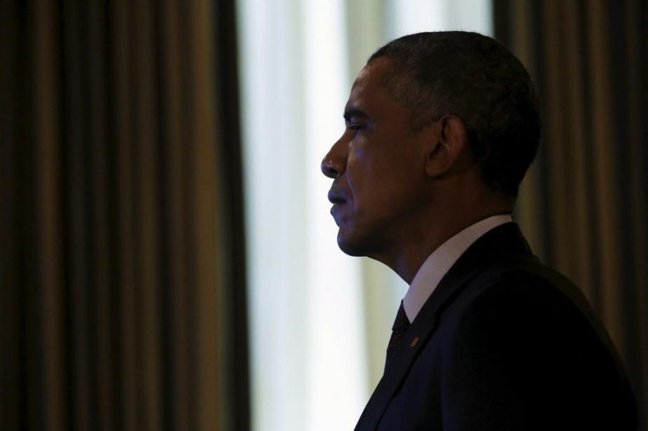 Le président Barack Obama... (Photo Jonathan Ernst, Reuters)