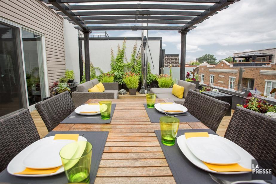 La vie sur les toits | Danielle Bonneau | Cour et Jardin