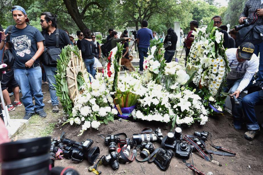Ruben Espinosa, 31 ans, qui travaillait notamment pour... (PHOTO AFP)