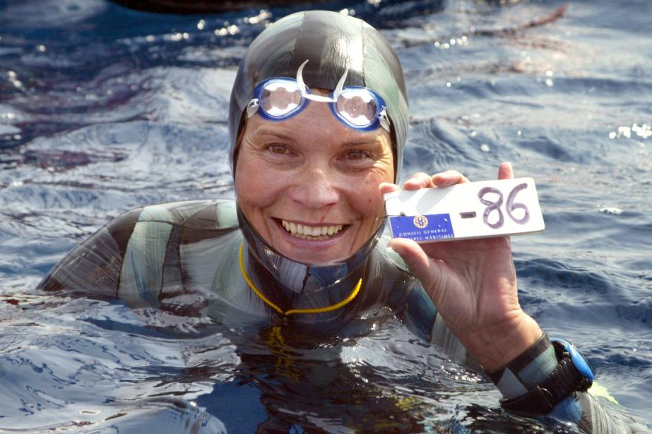 Natalia Molchanova était l'apnéiste la plus décorée de... (Photo Jacques Munch, archives AFP)