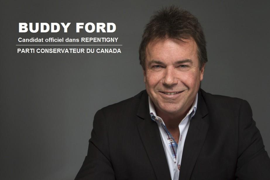 Buddy Ford était le deuxième candidat à se... (PHOTO TIRÉE DE FACEBOOK)