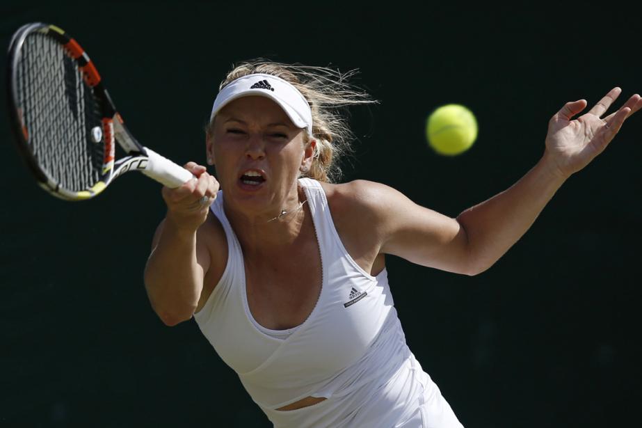 Caroline Wozniacki... (Photo Adrian Dennis, archives AFP)