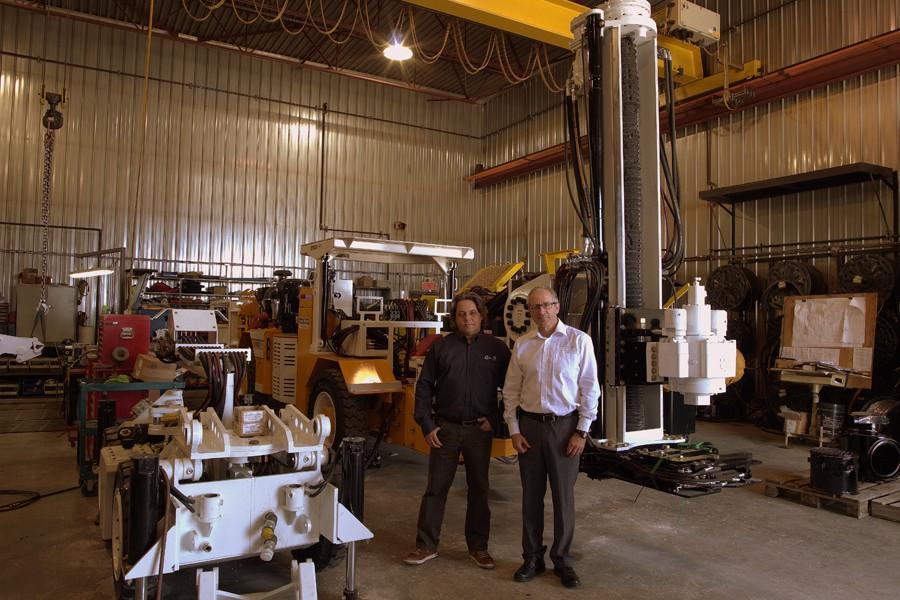 Luc Guimond, président (à gauche) et Ghislain Blanchet,... (PHOTO FOURNIE PAR LUC GUIMOND)