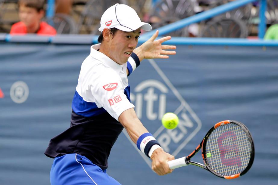 Kei Nishikoria porté sa fiche à 41-9 en... (Photo Luis M. Alvarez, AP)