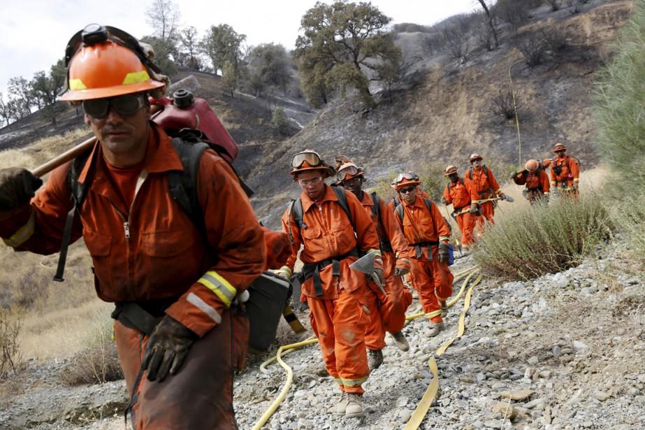 La Californie, aux prises avec une grave sécheresse,... (Photo Robert Galbraith, archives Reuters)