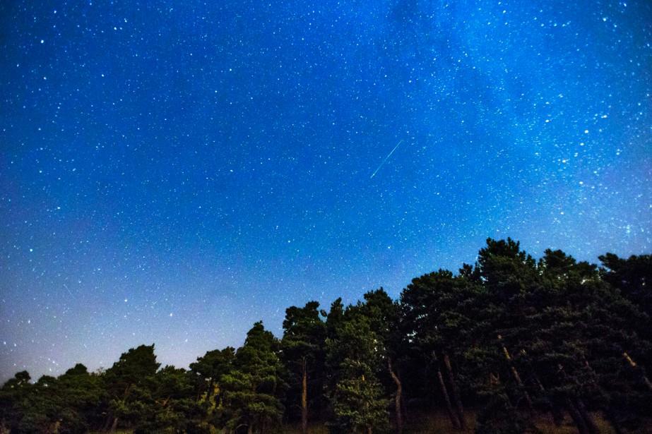 Cette année, le pic d'activité des Perséides se... (PHOTO ANDRES KUDACKI, ARCHIVES AP)