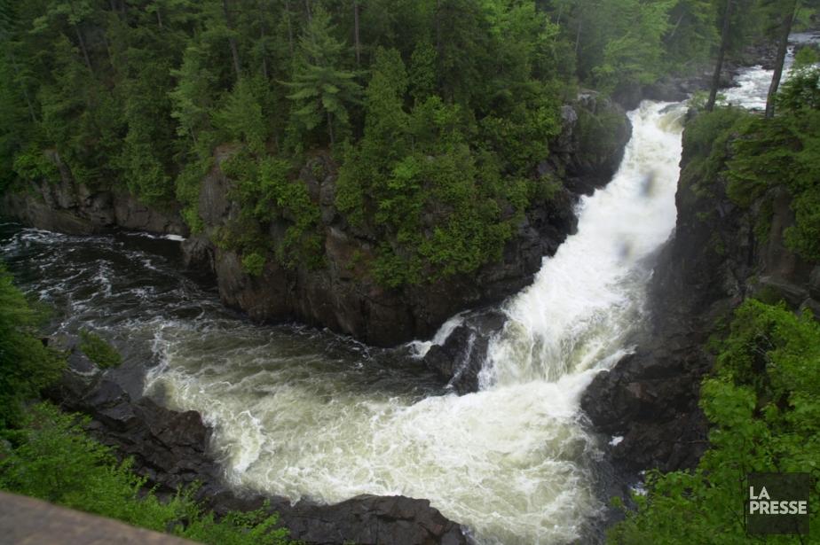 Les chutes Dorwin, à Rawdon.... (Photo archives La Presse)