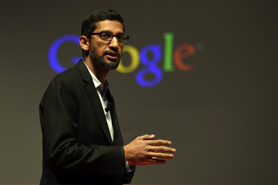 Sundar Pichai, d'origine indienne et âgé de 43... (PHOTO LLUIS GENE, ARCHIVES AFP)