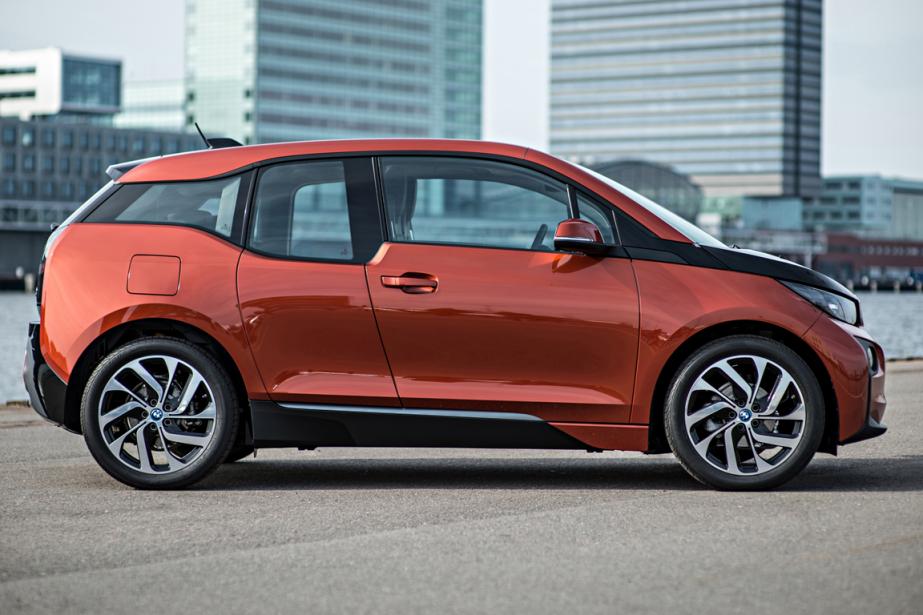 La BMW i3 tout électrique, par exemple, sera... (Photo : BMW)