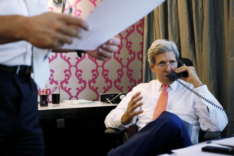 John Kerry... (PHOTO REUTERS)