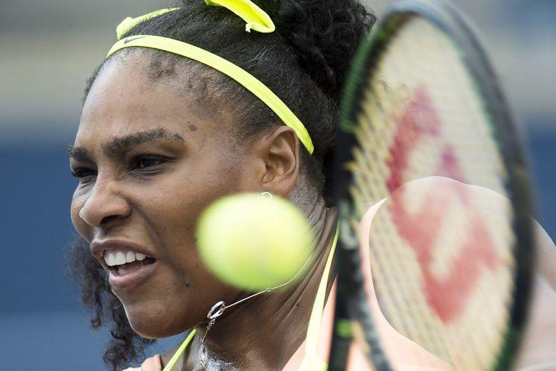 Serena Williams... (Frank Gunn)