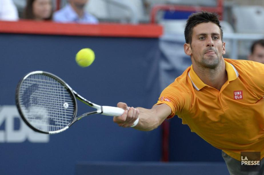 Novak Djokovic... (PHOTO BERNARD BRAULT, LA PRESSE)