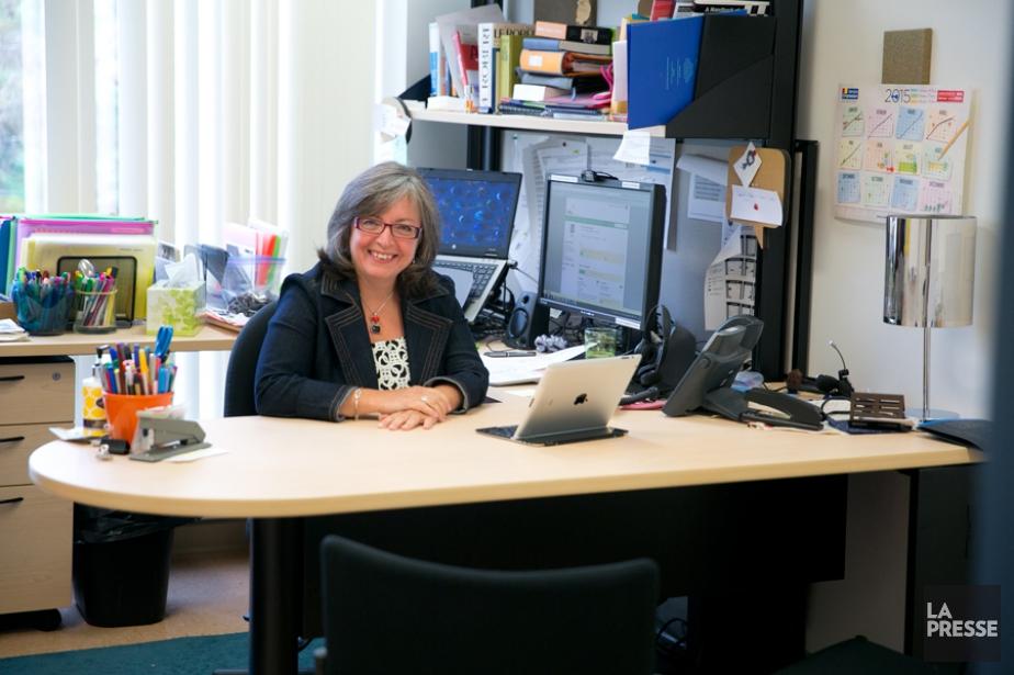 Florence Bordage, directrice de laformationcontinue à l'Université de... (PHOTO FRANÇOIS ROY, LA PRESSE)
