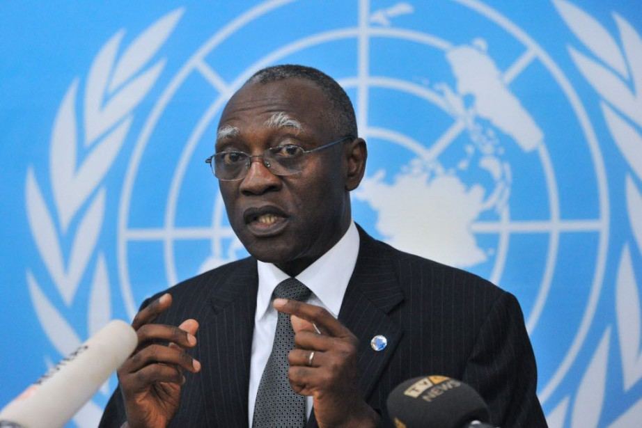 Le diplomate sénégalais Babacar Gaye... (Photo ISSOUF SANOGO, ARCHIVES AFP)