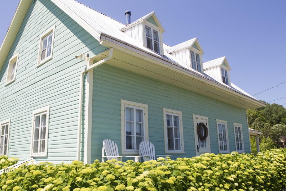 La maison et le domaine qui accueillent l'Azulée datent de 1844. (Le Soleil, Caroline Grégoire)
