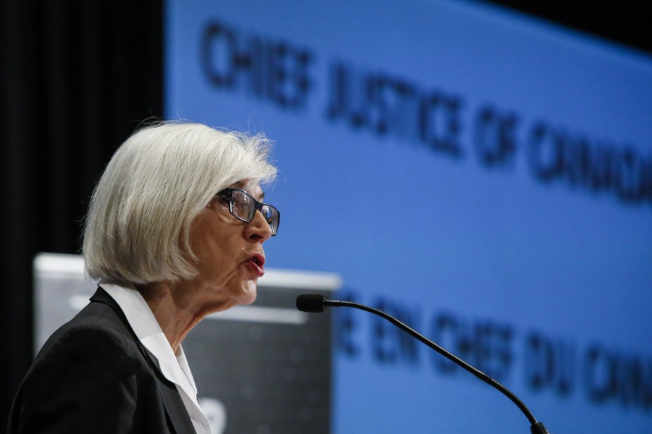 «Nous entendons parfois que le judiciaire n'est pas... (Photo La Presse Canadienne)