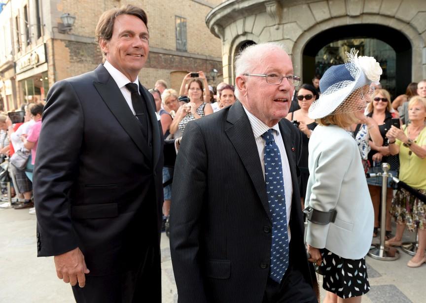 Bernard Landry a assisté à la cérémonie. (Le Soleil, Erick Labbé)