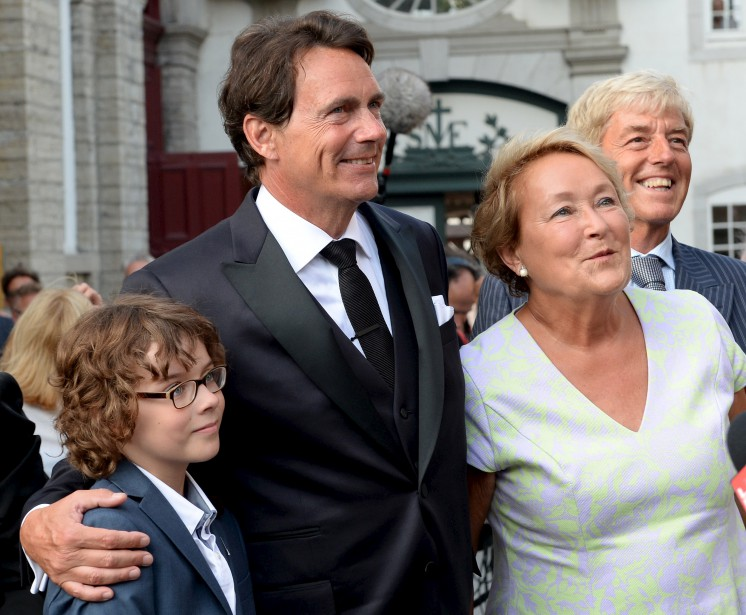 Pauline Marois comptait parmi les invités. (Le Soleil, Erick Labbé)