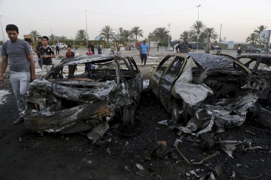 L'explosion a visé un endroit fréquenté par des... (Photo Wissm Al-Okili, Reuters)