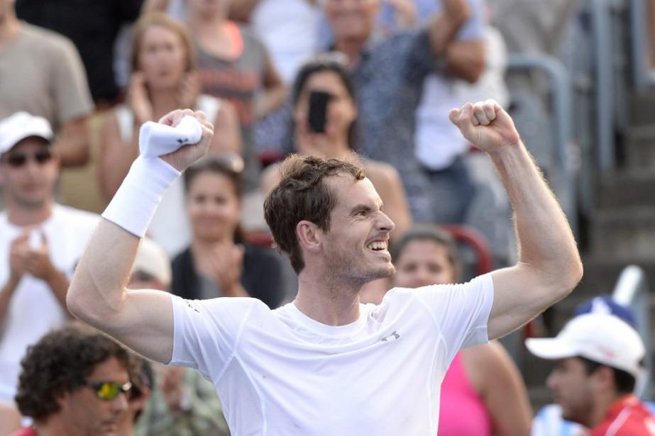 Andy Murray... (Photo Paul Chiasson, PC)