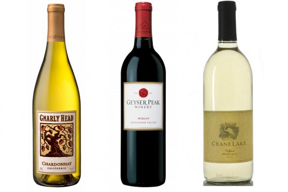 Le vin rouge Geyser Peak Merlot ainsi que...