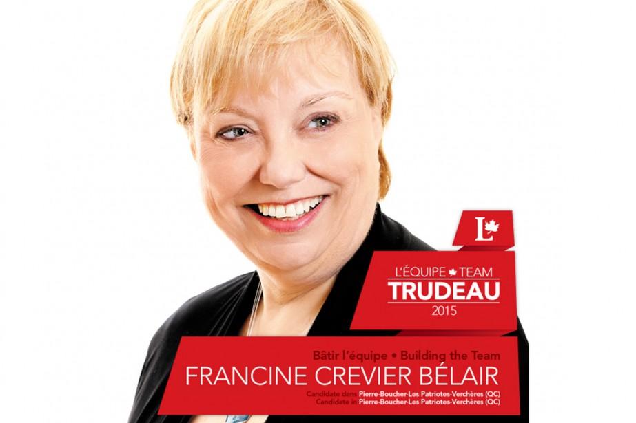Francine Crevier Bélair... (Photo tirée de Twitter)