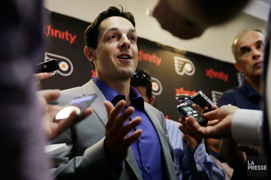 Daniel Brière a tenu une conférence de presse... (Photo Matt Rourke, AP)