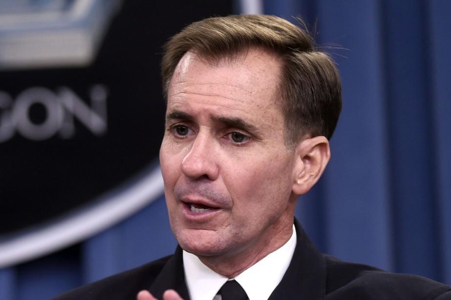 Le porte-parole du département d'État, John Kirby... (PHOTO ARCHIVES AP)