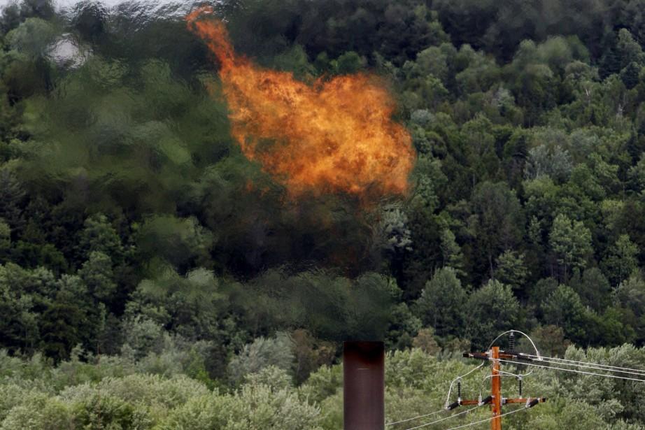 Le méthane, un composant clé du gaz naturel,... (PHOTO ARCHIVES AP)
