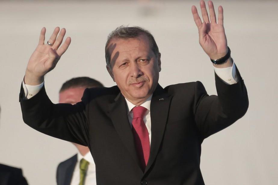 Recep Tayyip Erdogan... (PHOTO LEFTERIS PITARAKIS, ARCHIVES ASSOCIATED PRESS)