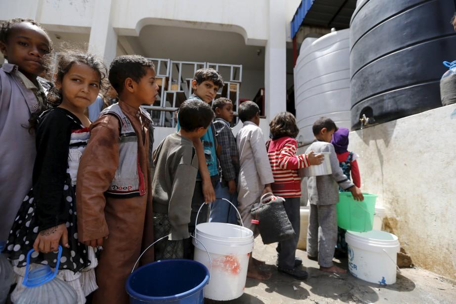 Plus de 500 000 enfants yéménites souffrent de... (PHOTO ARCHIVES REUTERS)