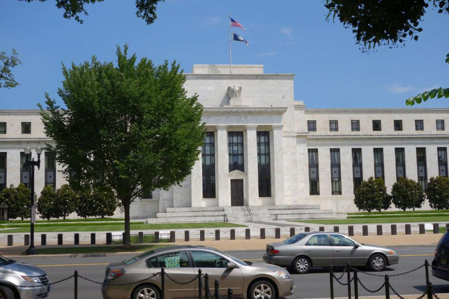 L'édifice de la Réserve fédérale américaine à Washington.... (PHOTO KAREN BLEIER, ARCHIVES AFP)