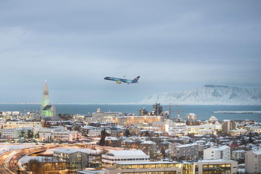 De Kelflavik, la compagnie Icelandair propose une vingtaine... (Photo Icelandair, AP)
