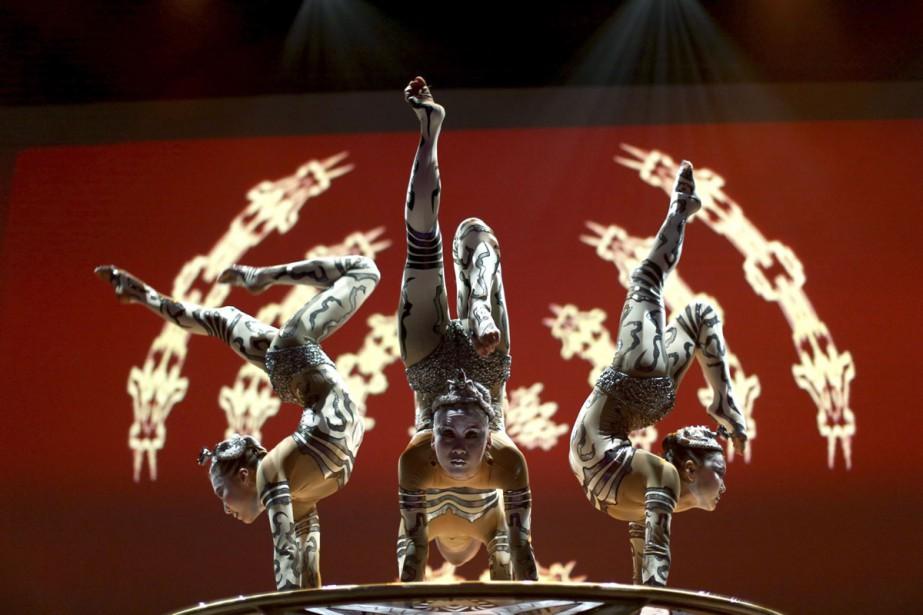 Le spectacle Paramour reprendra des éléments du spectacle... (PHOTO ARCHIVES AP)