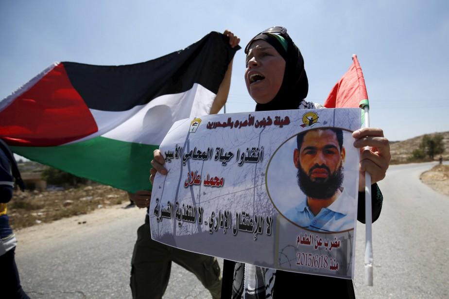 Mohammed Allan, avocat de 31 ans arrêté en... (Photo Mohamad Torokman, Reuters)
