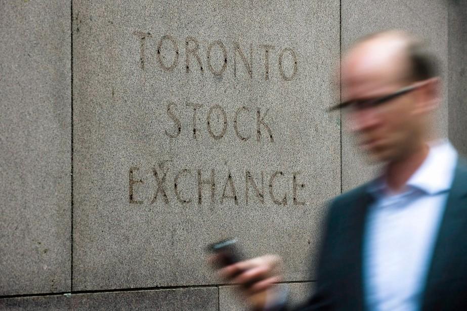 La Bourse de Toronto a clôturé en baisse... (Photo archives La Presse Canadienne)