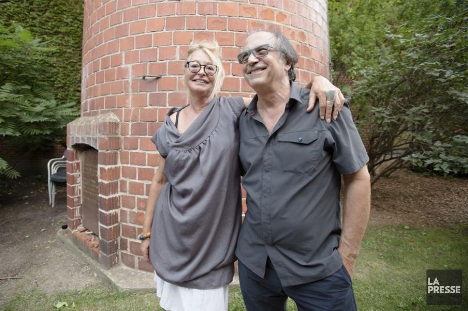 Danièle de Fontenay et son complice Gilles Maheu... (PHOTO NINON PEDNAULT, LA PRESSE)