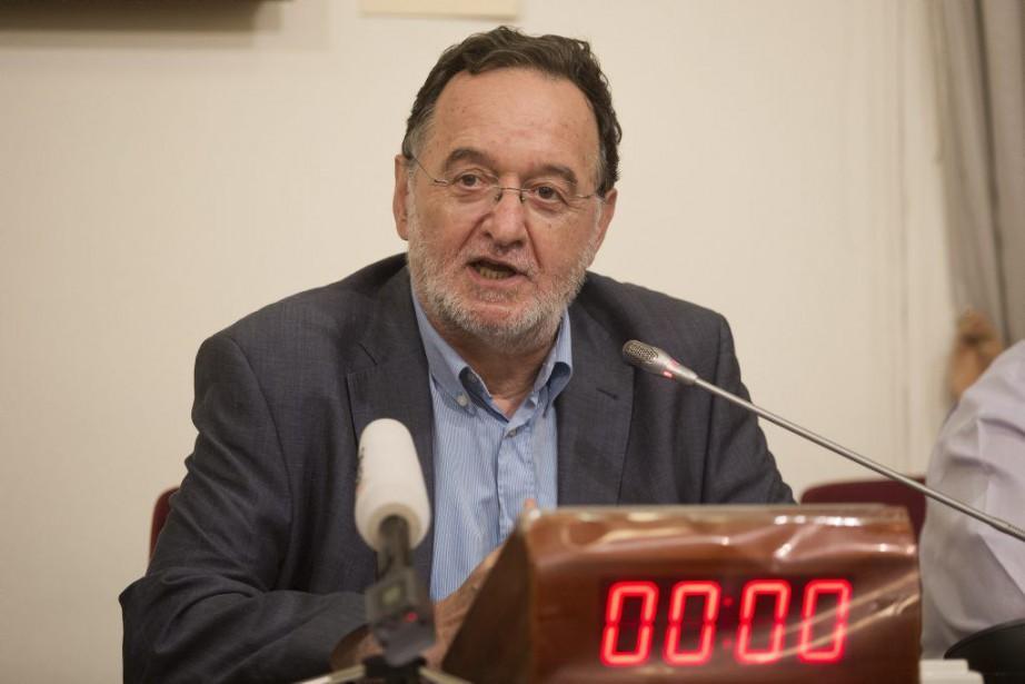 Le nouveau parti est dirigé par Panagiotis Lafazanis,... (PHOTO PETROS GIANNAKOURIS, AP)