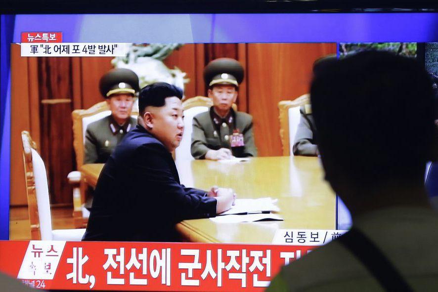 D'après KCNA, l'agence officielle nord-coréenne, le numéro un... (PHOTO AHN YOUNG-JOON, AP)