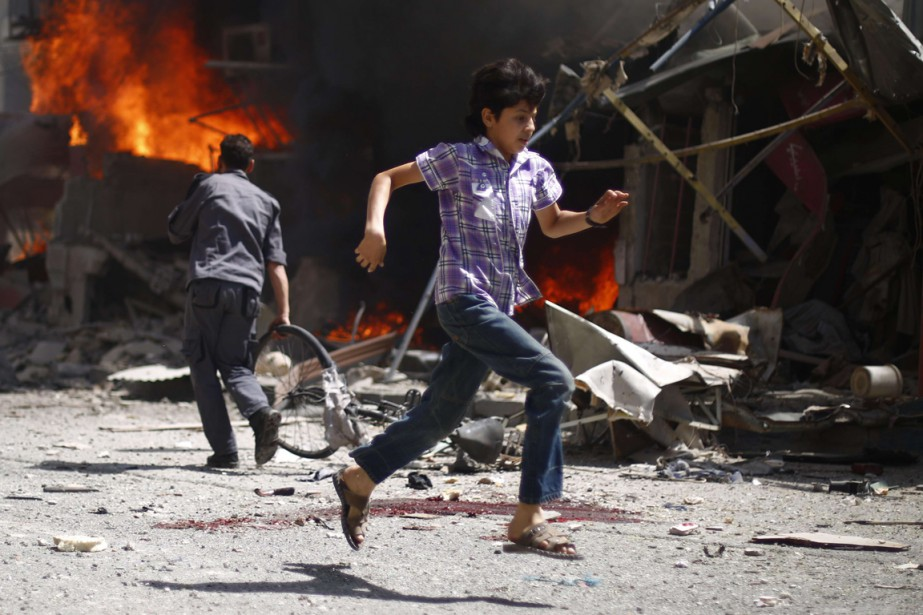 Les Nations unies ont présenté lundi un plan... (PHOTO SAMEER AL-DOUMY, archives AFP)