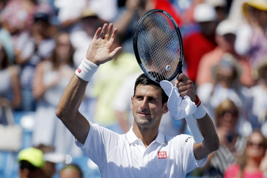Novak Djokovic... (PHOTO JOHN MINCHILLO, AP)