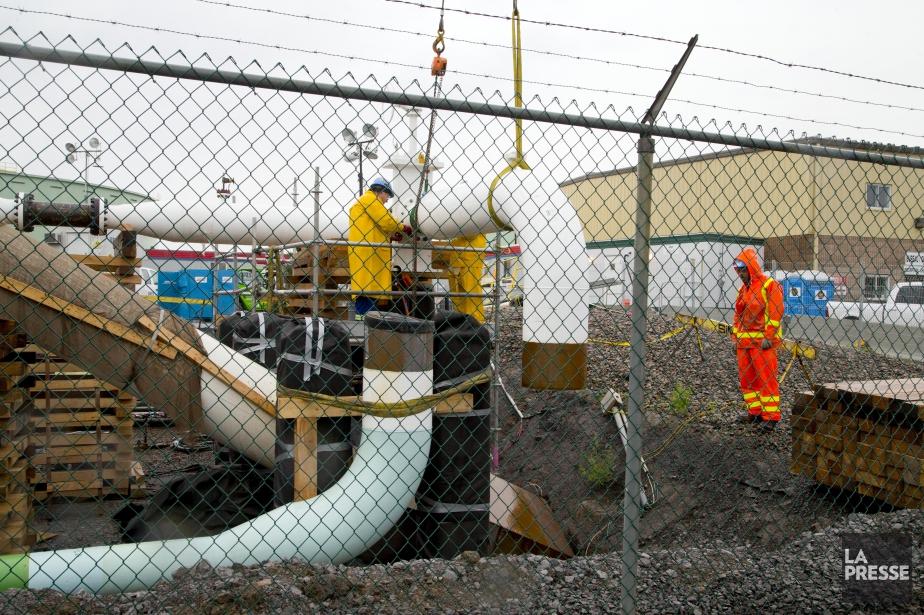 Le projet d'Enbridge prévoit notamment l'inversion du flux... (PHOTO ALAIN ROBERGE, ARCHIVES LA PRESSE)