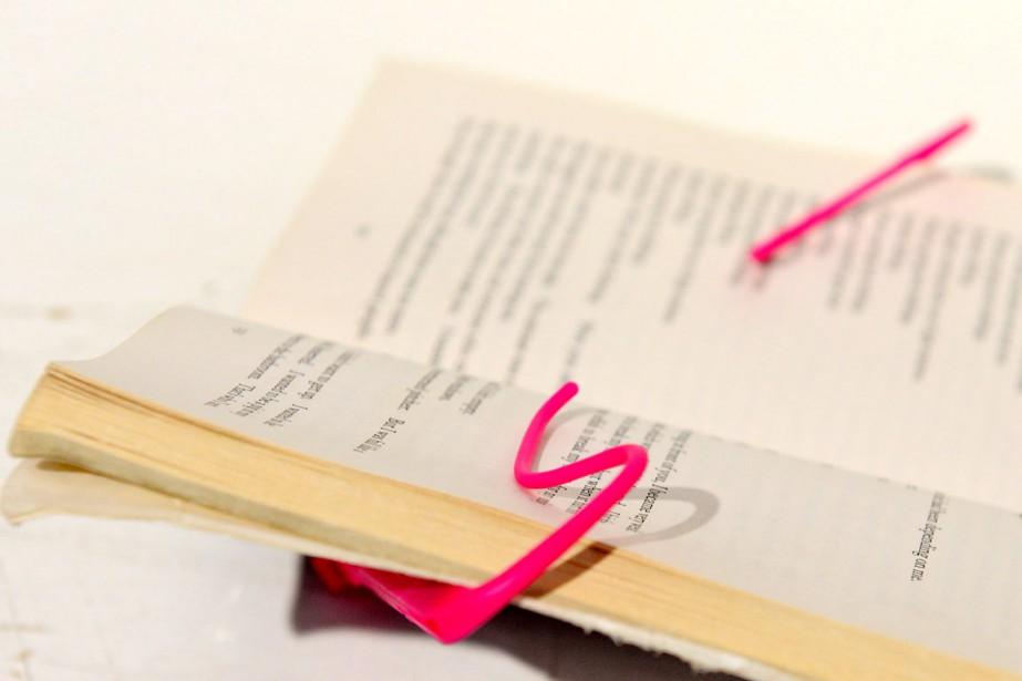 Pince à livre format voyage,de That Company Called IF, L'Inventaire, 18,99 $ (Le Soleil, Erick Labbé)