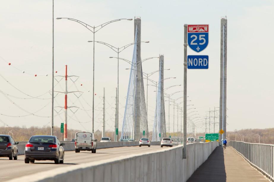 Depuis l'ouverture du pont de l'A25 en 2011,... (PHOTO ALAIN ROBERGE, ARCHIVES LA PRESSE)