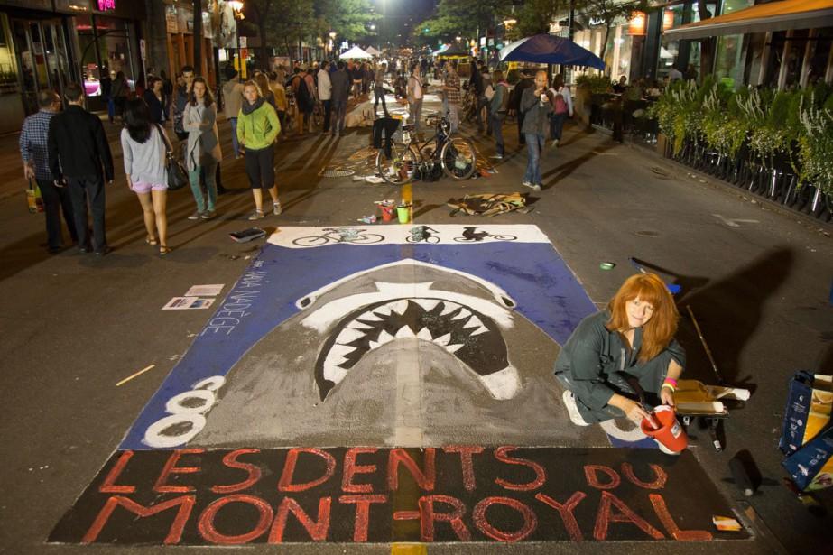 Le grand événement de Nuit blanche sur tableau... (PHOTO FOURNIE PAR LA SDAMR)