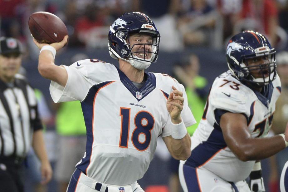 Manning même confié à Peter King, de Sports... (PHOTO GEORGE BRIDGE, AP)