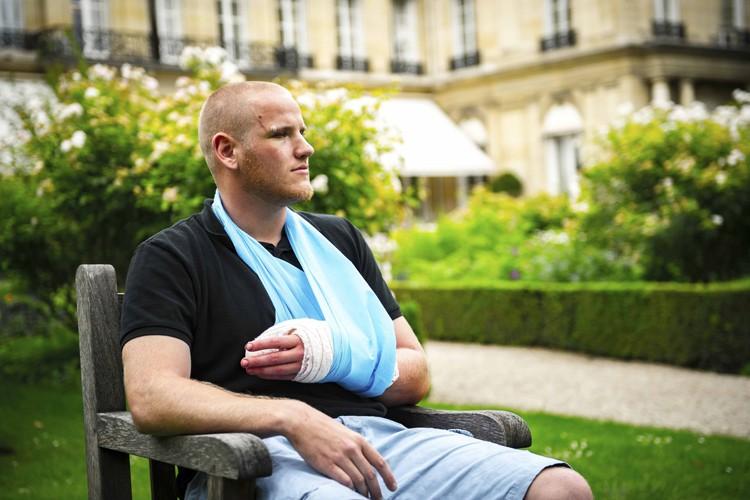 Spencer Stone était attendu lundi en Allemagne pour... (PHOTO ARCHIVES REUTERS)