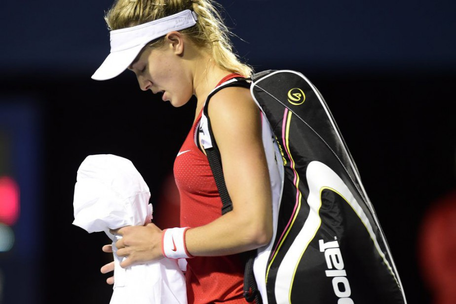 Eugenie Bouchard... (Photo La Presse Canadienne)