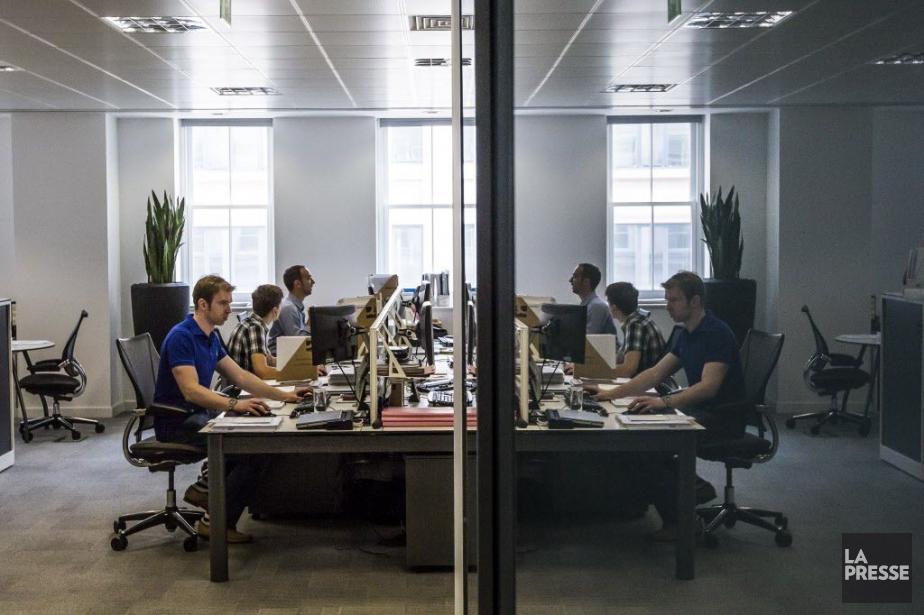 Les bureaux londonien de la compagnie WSP.... (PHOTO OLIVIER PONTBRIAND, archives LA PRESSE)